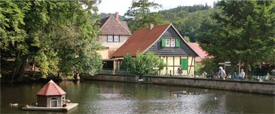 Pension christianental in wernigerode waldgasthaus for Pension wernigerode